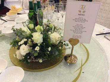 Gói dịch vụ Queen Bee Luxury - 472.500đ/người bàn tiệc 10 người/bàn - Trung tâm tổ chức sự kiện và tiệc cưới Queen Bee - Hình 8