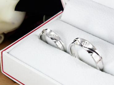 Nhẫn cưới kim cương D10033 HP USA - Hưng Phát USA - Hình 3