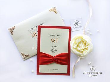 Luxury Wedding Invitations – Thiệp cao cấp - An Hieu Wedding - Hình 10