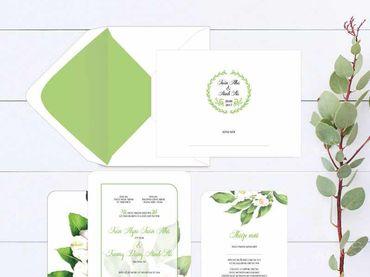 Thiệp cưới Thiết kế - Peonies - Thiệp cưới Thiết kế - Hình 8