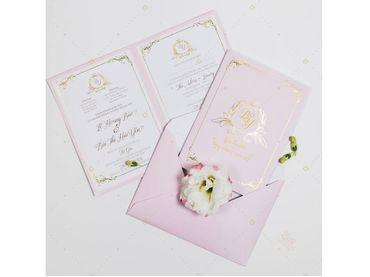 Thiệp cưới Sổ hồng- Xu hướng 2018 - Lubi Wedding Paper - Hình 2