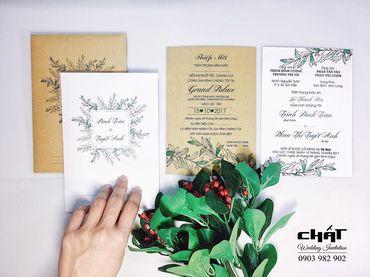 Thiệp cưới Tiêu chuẩn - Thiệp cưới Chất - Hình 13