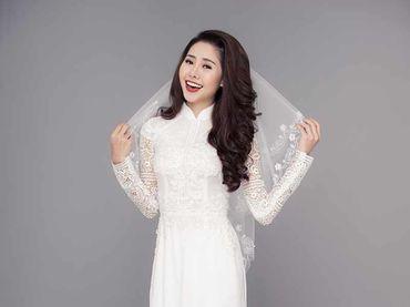 Trọn bộ áo dài tinh khiết - Áo Dài Nhà Mốt Moda Casa - Hình 5