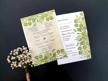 Thiệp cưới in hình nhà Pen - Thiệp cưới nhà Pen - Hình 6
