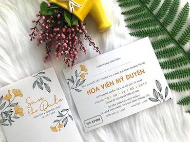 Những cánh Hoa Bay - Thiệp cưới nhà Pin - Hình 4