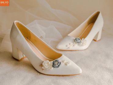 Giày cưới 5cm  - Giày cưới / Giày Cô Dâu BEJO BRIDAL - Hình 7