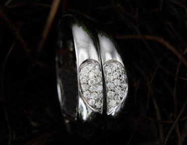 Nhẫn cưới kim cương D10126 HP USA - Hưng Phát USA - Hình 1
