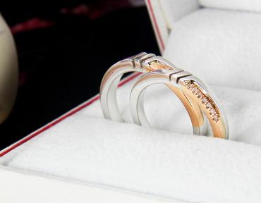 Nhẫn cưới kim cương D10128 HP USA - Hưng Phát USA - Hình 2