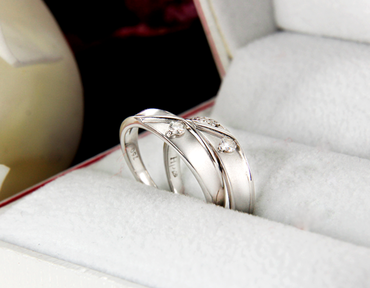 Nhẫn cưới kim cương SO547 HP USA - Hưng Phát USA - Hình 2