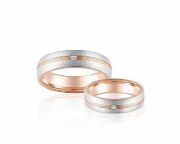 Nhẫn cưới vàng Forever Love - PRECITA - Hình 1