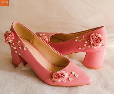 Giày cưới 5cm  - Giày cưới / Giày Cô Dâu BEJO BRIDAL - Hình 6