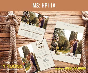 Thiệp cưới in hình - Thiệp Cưới Ý Tưởng - Hình 94