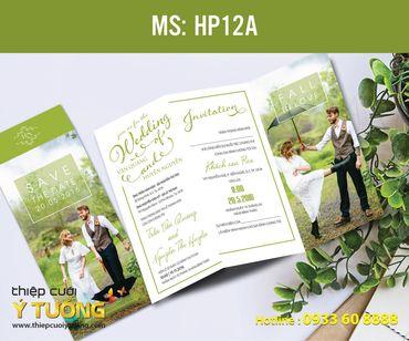 Thiệp cưới in hình - Thiệp Cưới Ý Tưởng - Hình 85