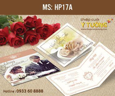 Thiệp cưới in hình - Thiệp Cưới Ý Tưởng - Hình 125