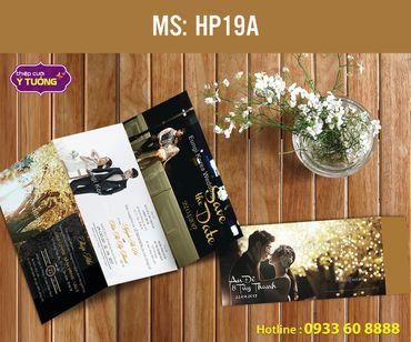 Thiệp cưới in hình - Thiệp Cưới Ý Tưởng - Hình 131
