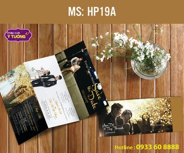 Thiệp cưới in hình - Thiệp Cưới Ý Tưởng - Hình 136