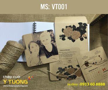 Thiệp cưới Vintage - Thiệp Cưới Ý Tưởng - Hình 3