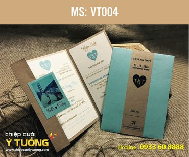Thiệp cưới Vintage - Thiệp Cưới Ý Tưởng - Hình 82