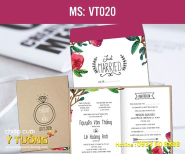 Thiệp cưới Vintage - Thiệp Cưới Ý Tưởng - Hình 11