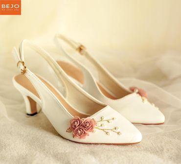 Giày cưới 5cm  - Giày cưới / Giày Cô Dâu BEJO BRIDAL - Hình 4