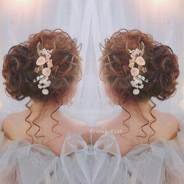 Kiểu tóc cô dâu đẹp - sang trọng - Trương Tịnh Wedding - Hình 6