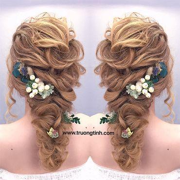 Kiểu tóc cô dâu đẹp - sang trọng - Trương Tịnh Wedding - Hình 9