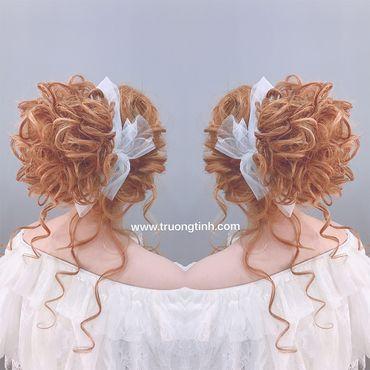 Kiểu tóc cô dâu đẹp - sang trọng - Trương Tịnh Wedding - Hình 17