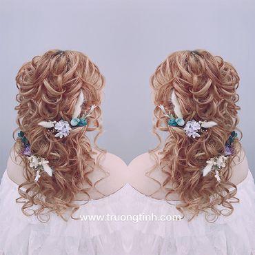 Kiểu tóc cô dâu đẹp - sang trọng - Trương Tịnh Wedding - Hình 20