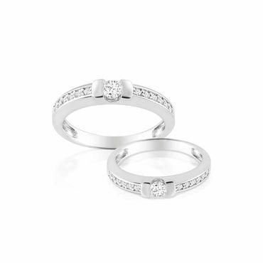 Nhẫn cưới Butterfly - PRECITA - Hình 2