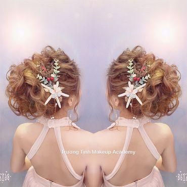 Kiểu tóc cô dâu đẹp - sang trọng - Trương Tịnh Wedding - Hình 23
