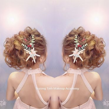 Kiểu tóc cô dâu đẹp - sang trọng - Trương Tịnh Wedding - Hình 34