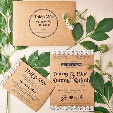 Thiệp cưới Rustic- Xu hướng 2018 - Lubi Wedding Paper - Hình 1