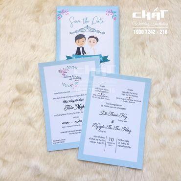 Thiệp cưới Chibi - Thiệp cưới Chất - Hình 2