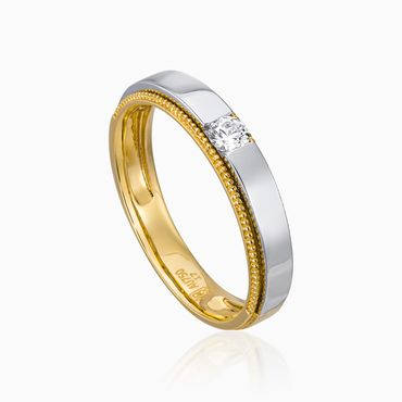 Nhẫn cưới Just For Love - W2B.VWR0140R - Công ty Cổ phần Vàng Bạc Đá Quý Lộc Phúc - Hình 2
