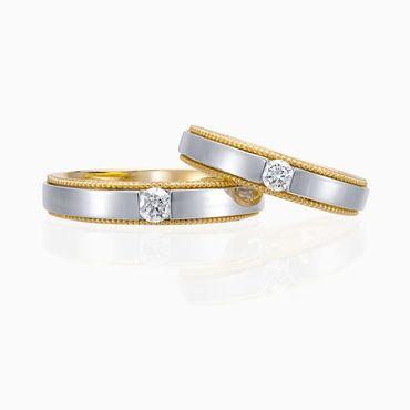 Nhẫn cưới Just For Love - W2B.VWR0140R - Công ty Cổ phần Vàng Bạc Đá Quý Lộc Phúc - Hình 4