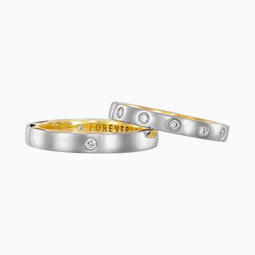 Nhẫn cưới Dream Of Love - K1B.LPW0039R - Công ty Cổ phần Vàng Bạc Đá Quý Lộc Phúc - Hình 4