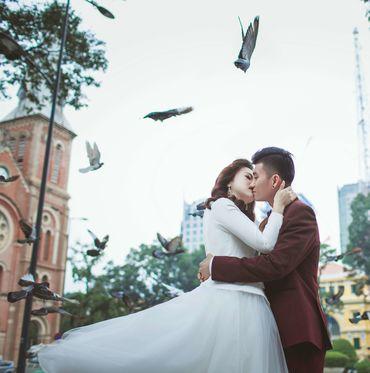 Trọn gói Album cưới ngoại cảnh Sài Gòn ngày và đêm - Hệ thống cửa hàng dịch vụ ngày cưới ALEN - Hình 12