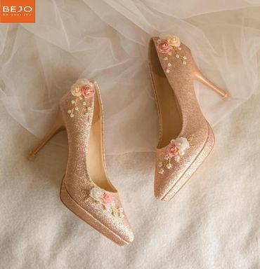 Giày 9cm  - Giày cưới / Giày Cô Dâu BEJO BRIDAL - Hình 5