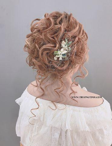 Kiểu tóc cô dâu đẹp - sang trọng - Trương Tịnh Wedding - Hình 19