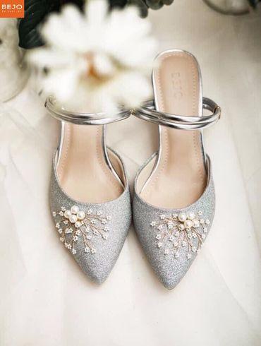 Giày cưới 5cm  - Giày cưới / Giày Cô Dâu BEJO BRIDAL - Hình 10