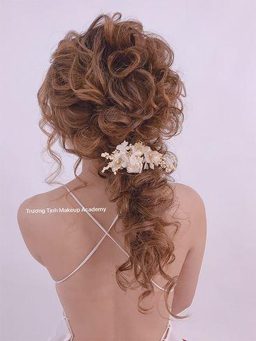 Kiểu tóc cô dâu đẹp - sang trọng - Trương Tịnh Wedding - Hình 2