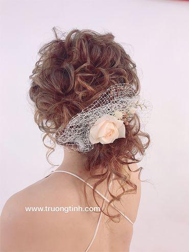 Kiểu tóc cô dâu đẹp - sang trọng - Trương Tịnh Wedding - Hình 5