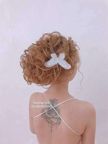Kiểu tóc cô dâu đẹp - sang trọng - Trương Tịnh Wedding - Hình 1
