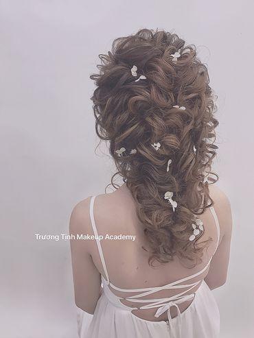 Kiểu tóc cô dâu đẹp - sang trọng - Trương Tịnh Wedding - Hình 16