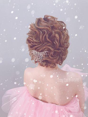 Kiểu tóc cô dâu đẹp - sang trọng - Trương Tịnh Wedding - Hình 18