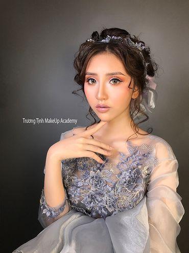 Trang điểm cô dâu đẹp - Trương Tịnh Wedding - Hình 4