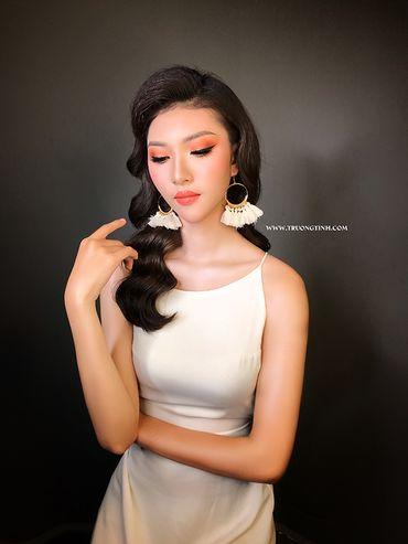 Trang điểm cô dâu đẹp - Trương Tịnh Wedding - Hình 9