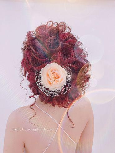 Kiểu tóc cô dâu đẹp - sang trọng - Trương Tịnh Wedding - Hình 10
