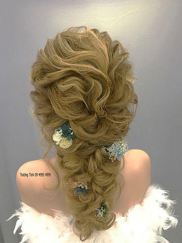 Kiểu tóc cô dâu đẹp - sang trọng - Trương Tịnh Wedding - Hình 13