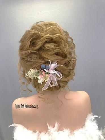 Kiểu tóc cô dâu đẹp - sang trọng - Trương Tịnh Wedding - Hình 12